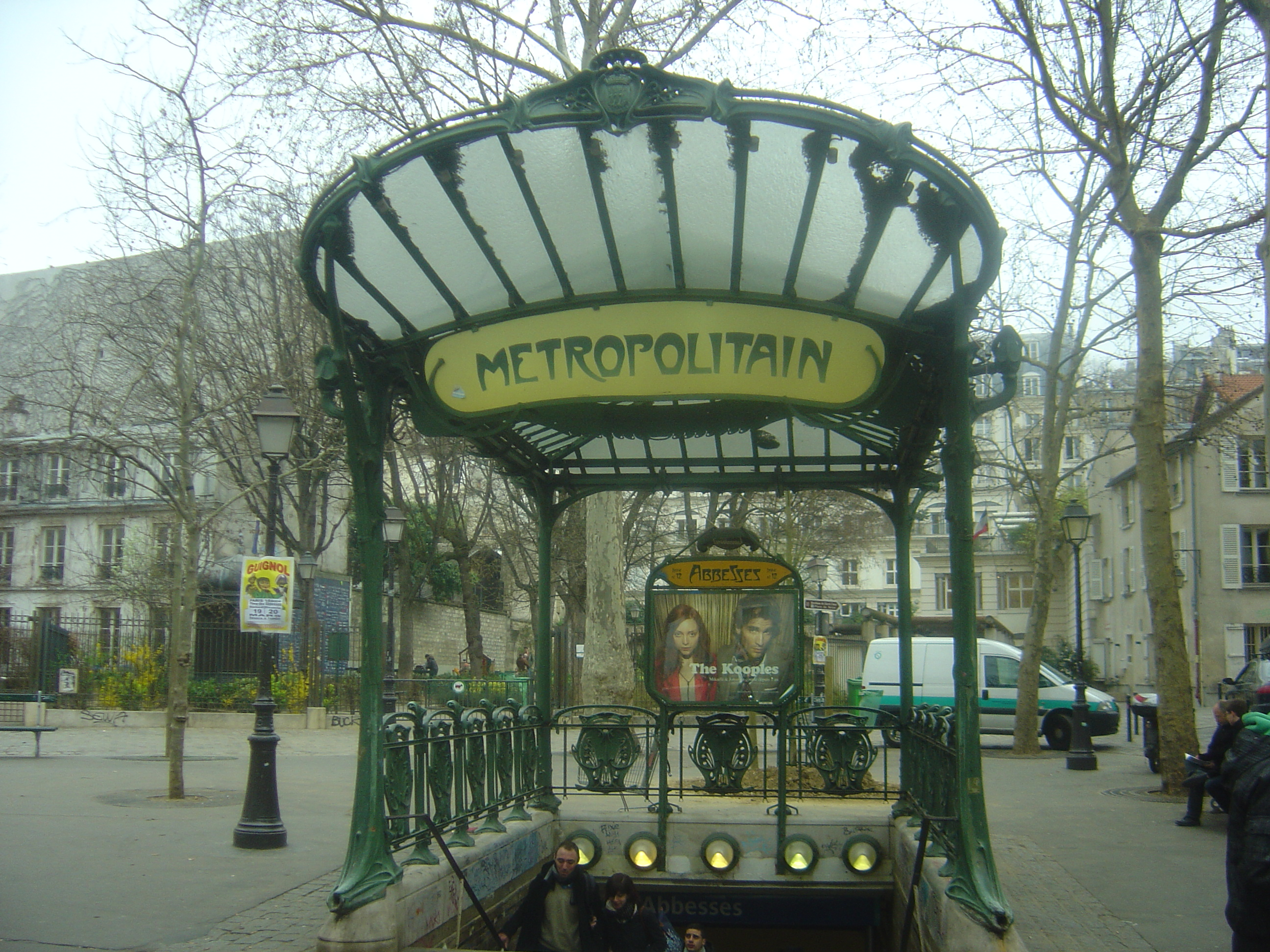 File:Art Nouveau metro station Abesses, Paris - 2011.JPG - Wikimedia ...