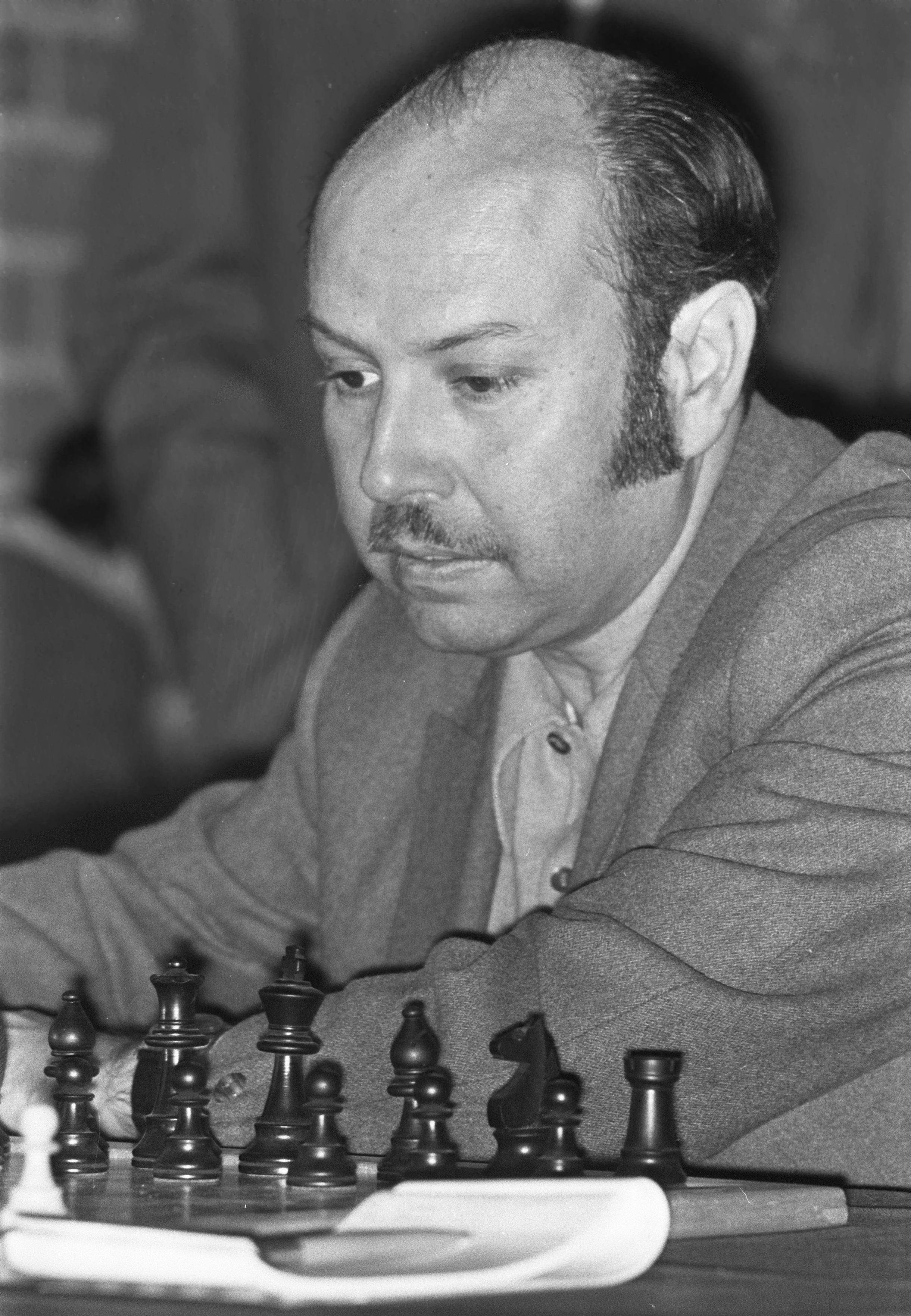 Arturo Pomar en 1972, cinco años antes de retirarse. | Imagen: Wikimedia.