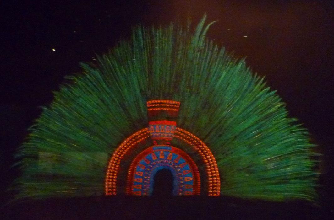 Quetzal Warrior Arte plumario -...