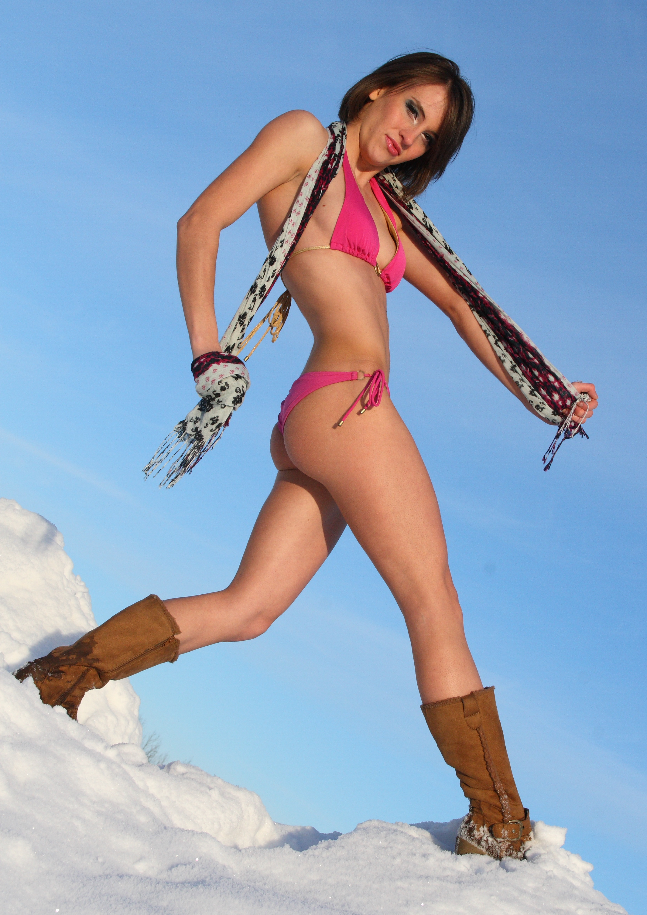 bikini in snow File:Bikini shoot in the snow (4896050637).jpg