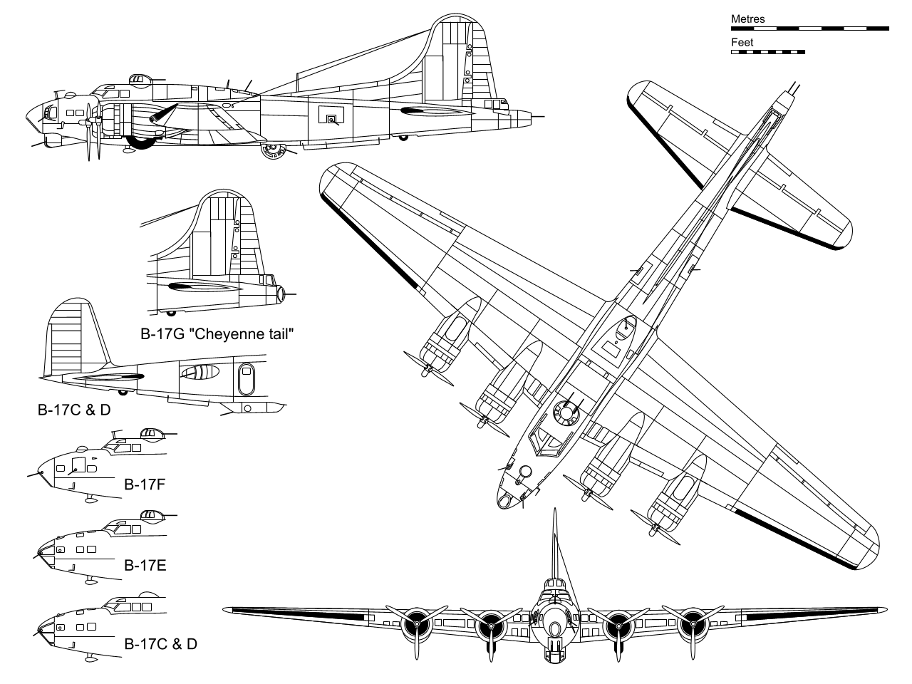 Miraculous Boeing B 17 Flying Fortress Wikipedia Wiring Digital Resources Sapebecompassionincorg