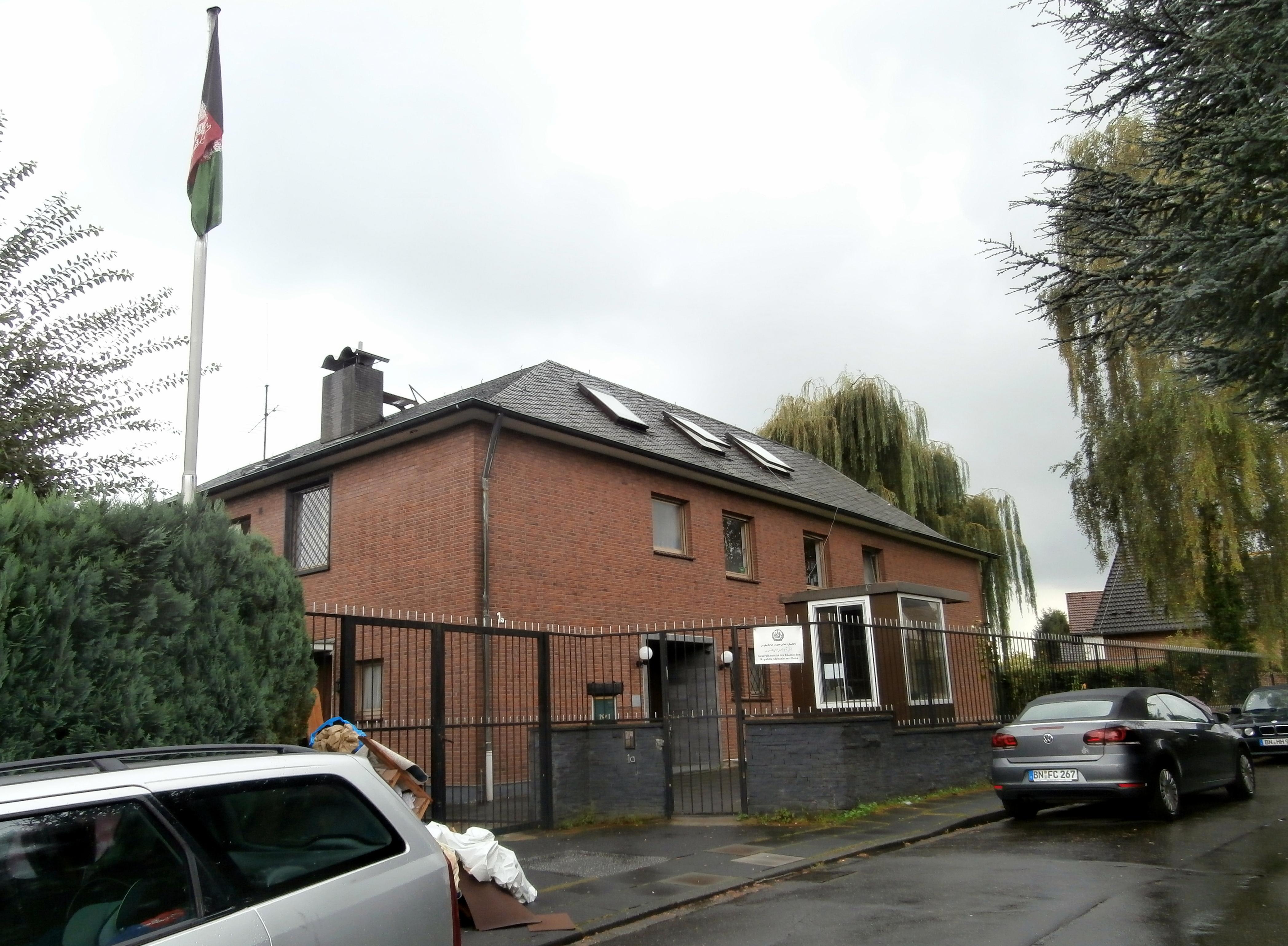 Afghanisches Konsulat Bonn