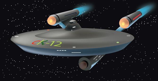CK-12 spaceship