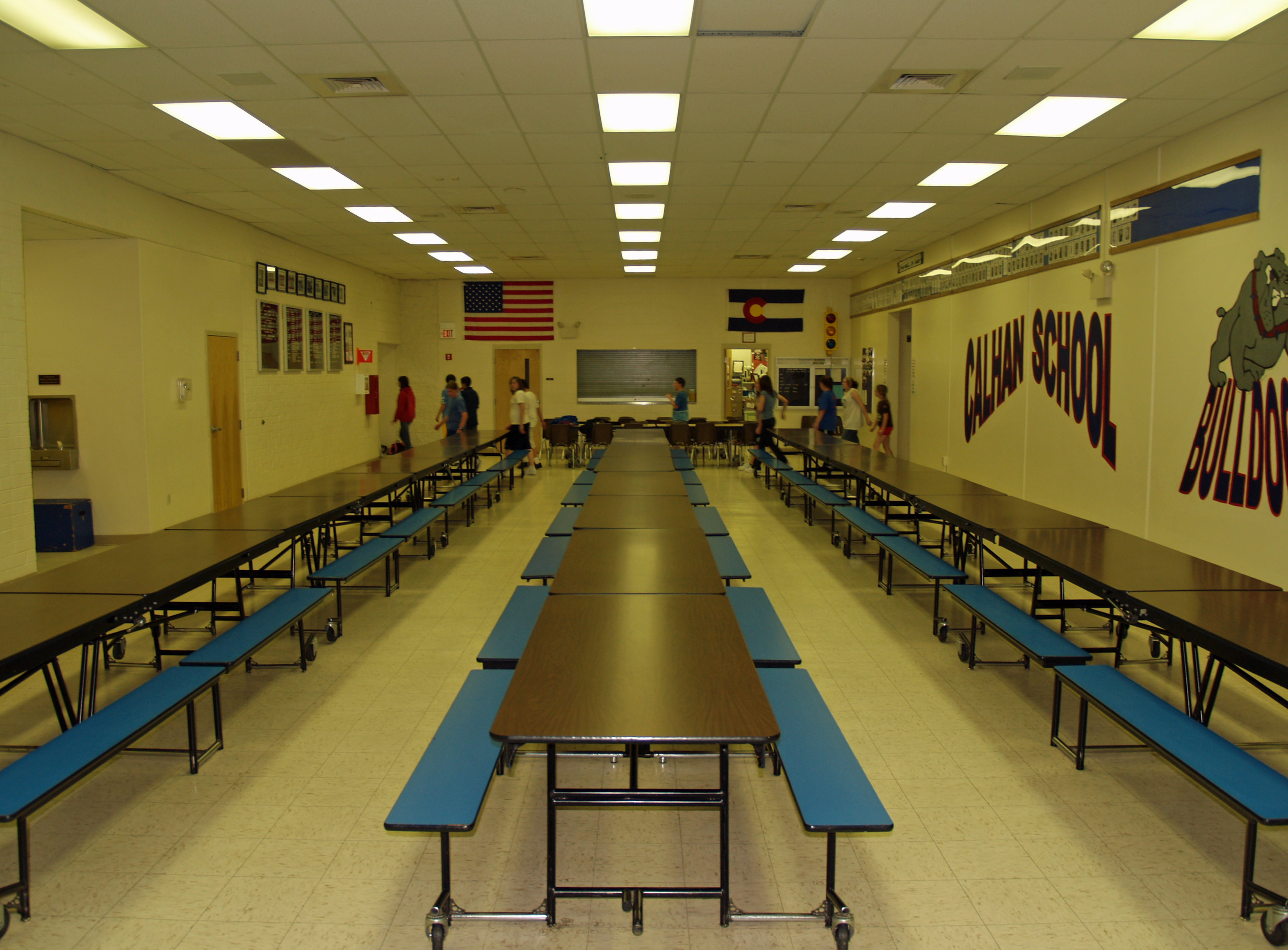 Empty High School Lunch Table Cafeteria Wikipedia The Free