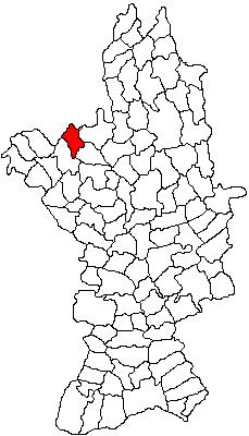 Vị trí của Cârlogani