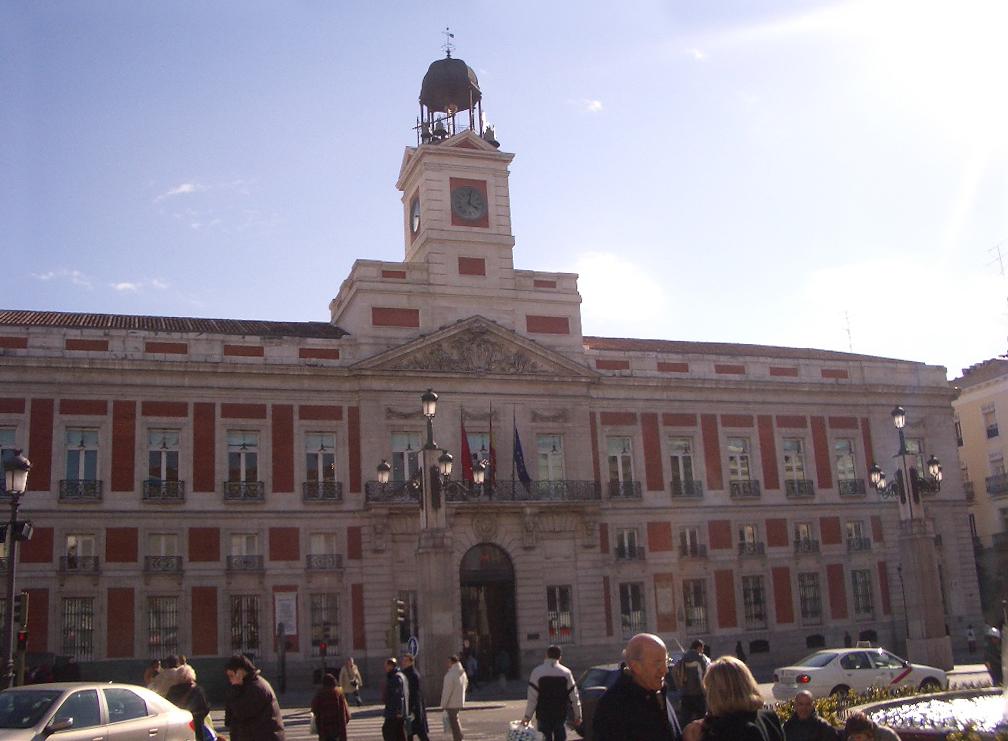 File casa de correos wikimedia commons for Casa de correos madrid