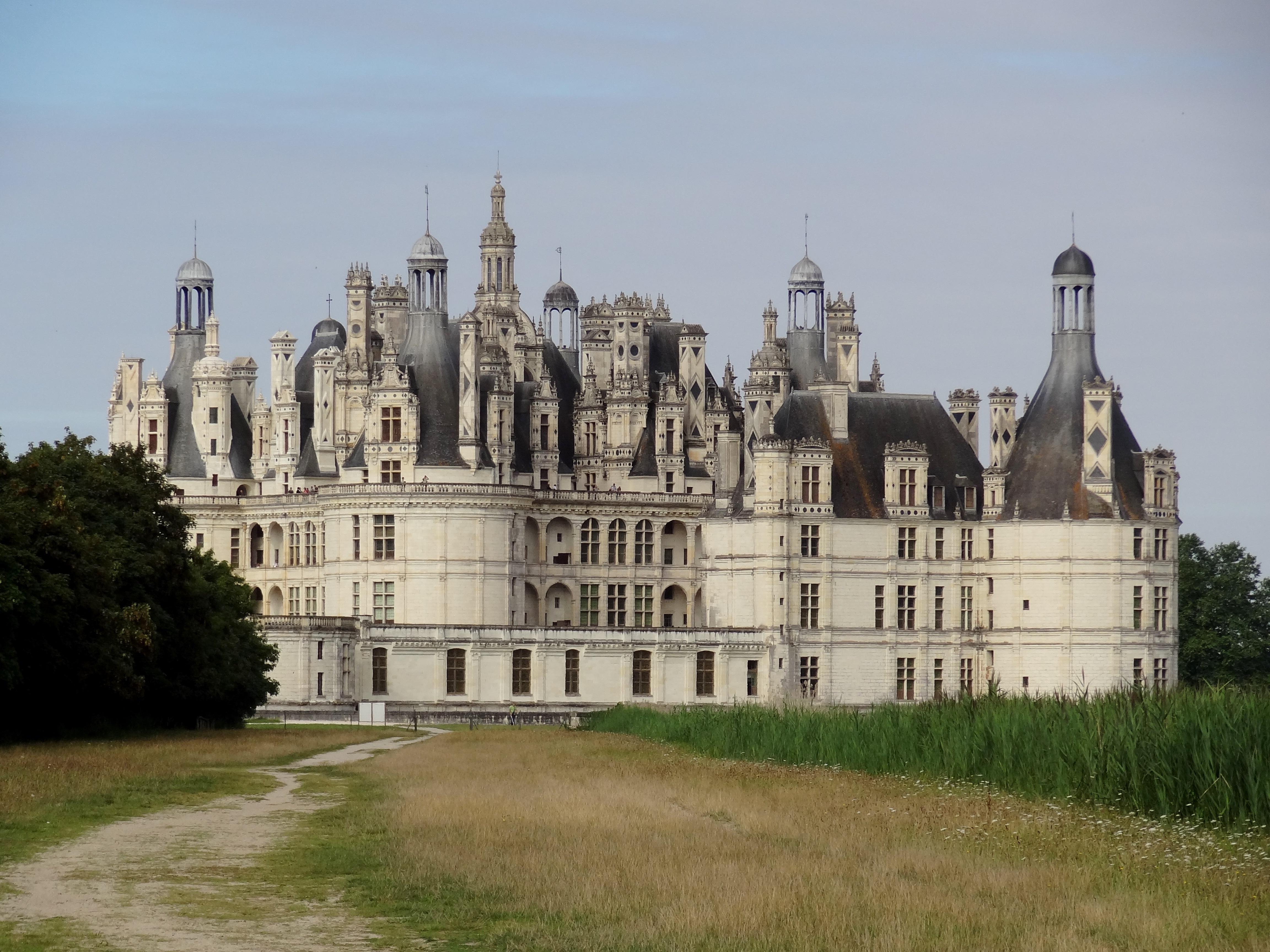 File castillo de chambord i jpg wikimedia commons - Castillo de chambord ...