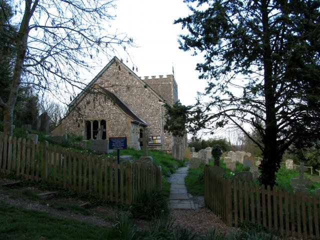 Castle Church , Bramber (West Sussex) - geograph.org.uk - 4697