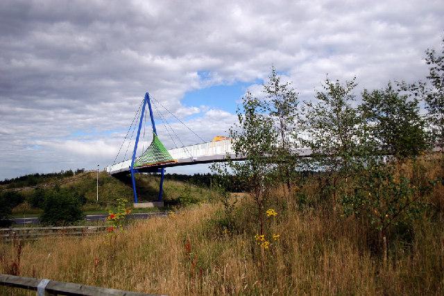 Castle Eden Walkway bridge - geograph.org.uk - 35113