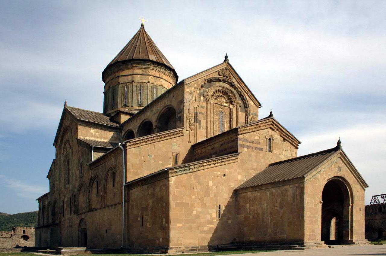 Svetitskhovelikatedralen i Mtskheta