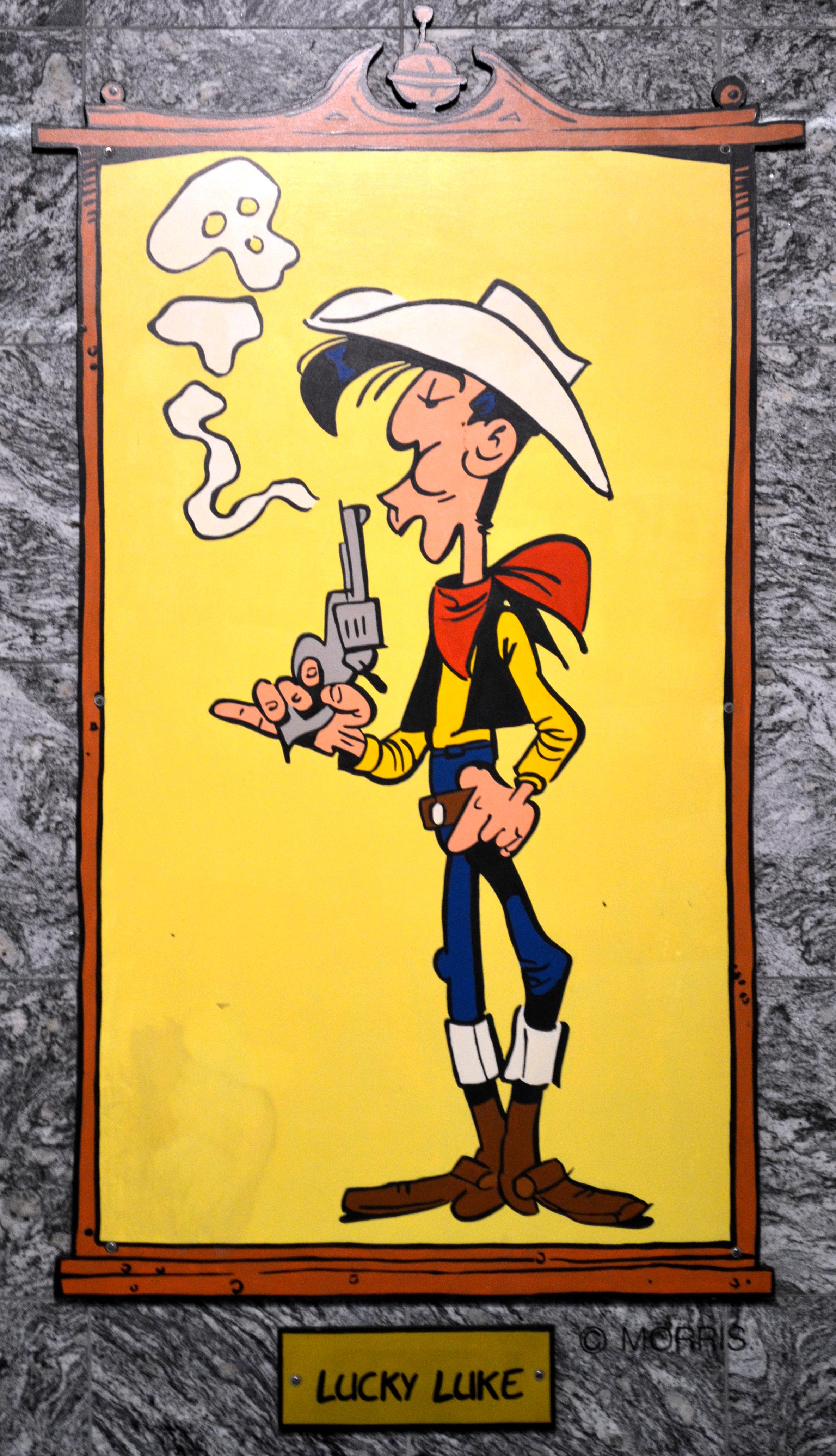 Lucky Luke Personnage Wikipedia