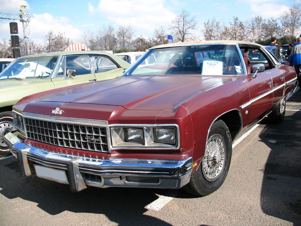 File:Chevrolet Caprice Classic Sedan 1976.jpg  Wikimedia Commons