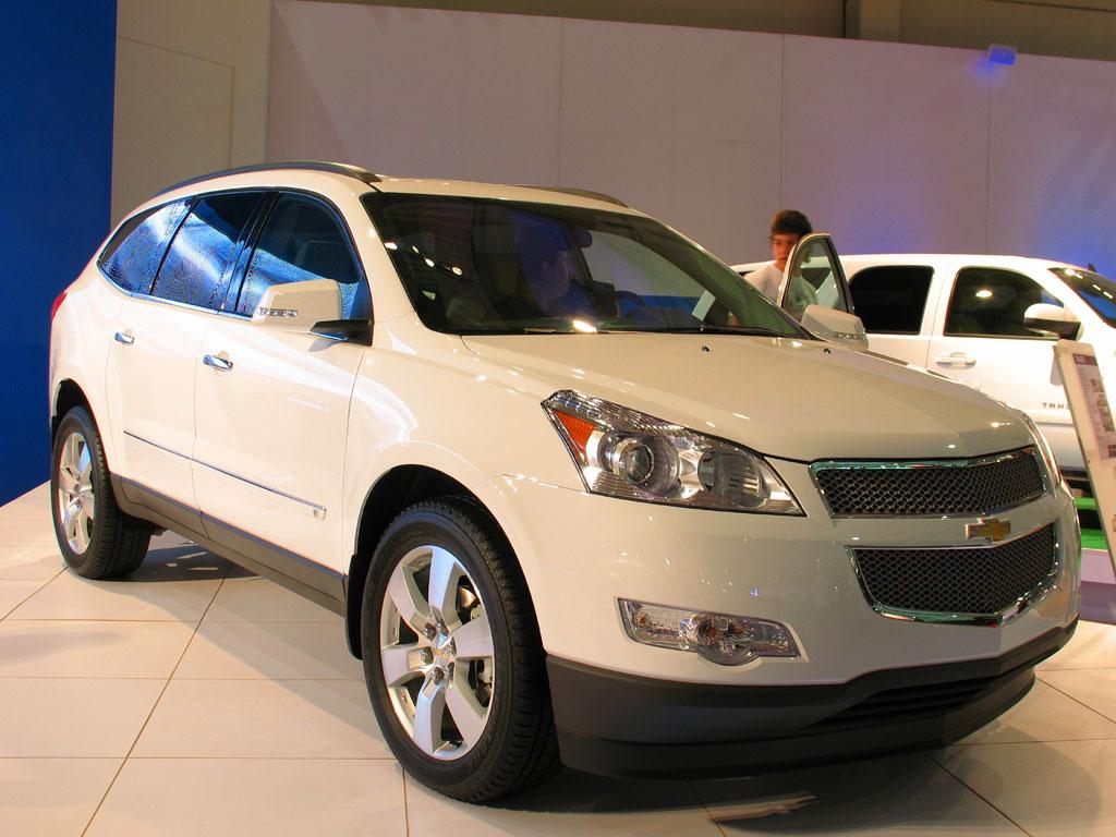 File Chevrolet Traverse Ltz Wikimedia Commons