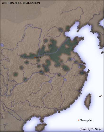 Population concentration during the [[Western Zhou Dynasty