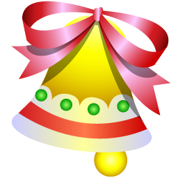 File Christmas Bell Icon Png Wikimedia Commons