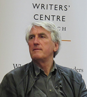 Bigsby at the Writers' Centre Norwich in 2011