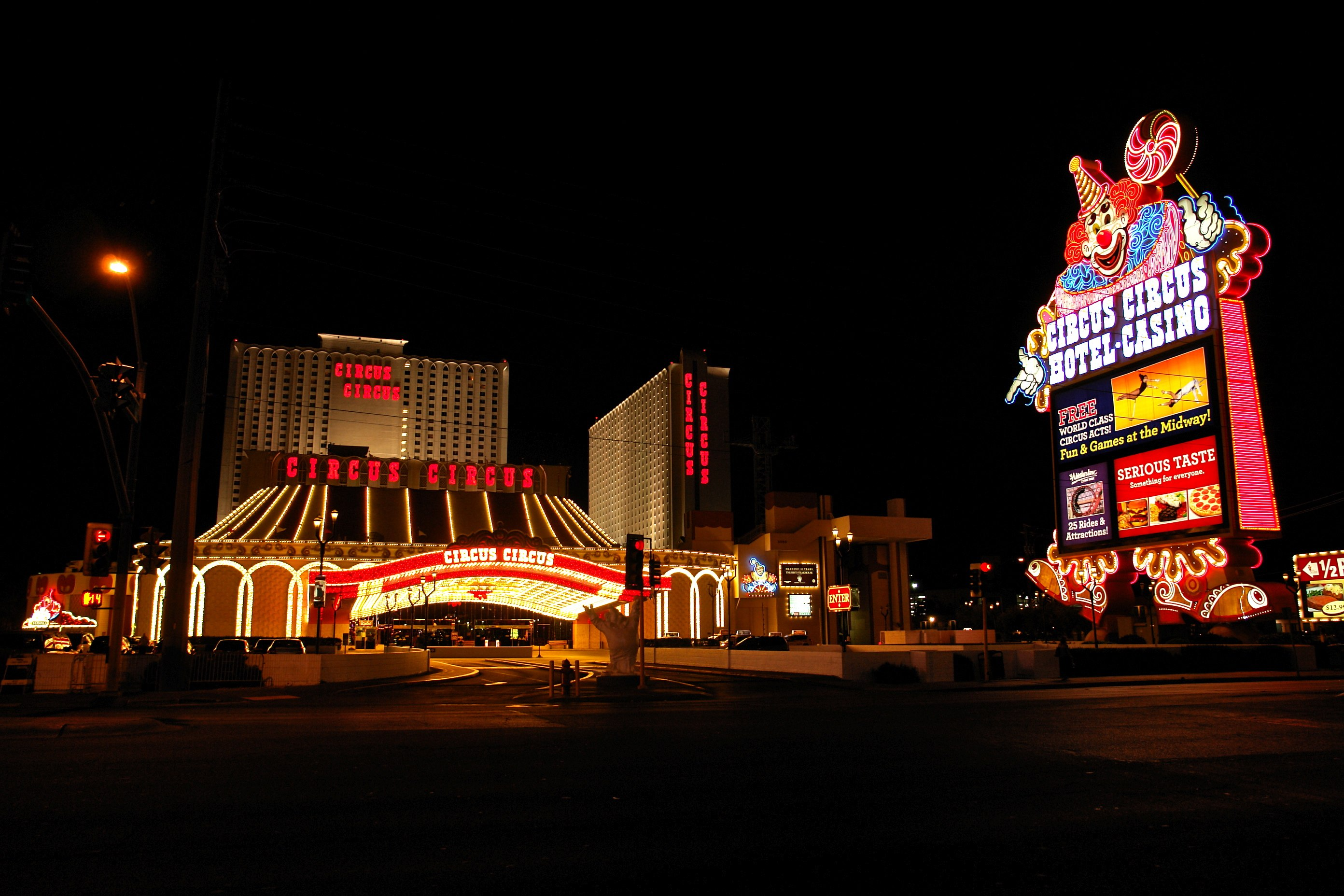 circus casino in las vegas