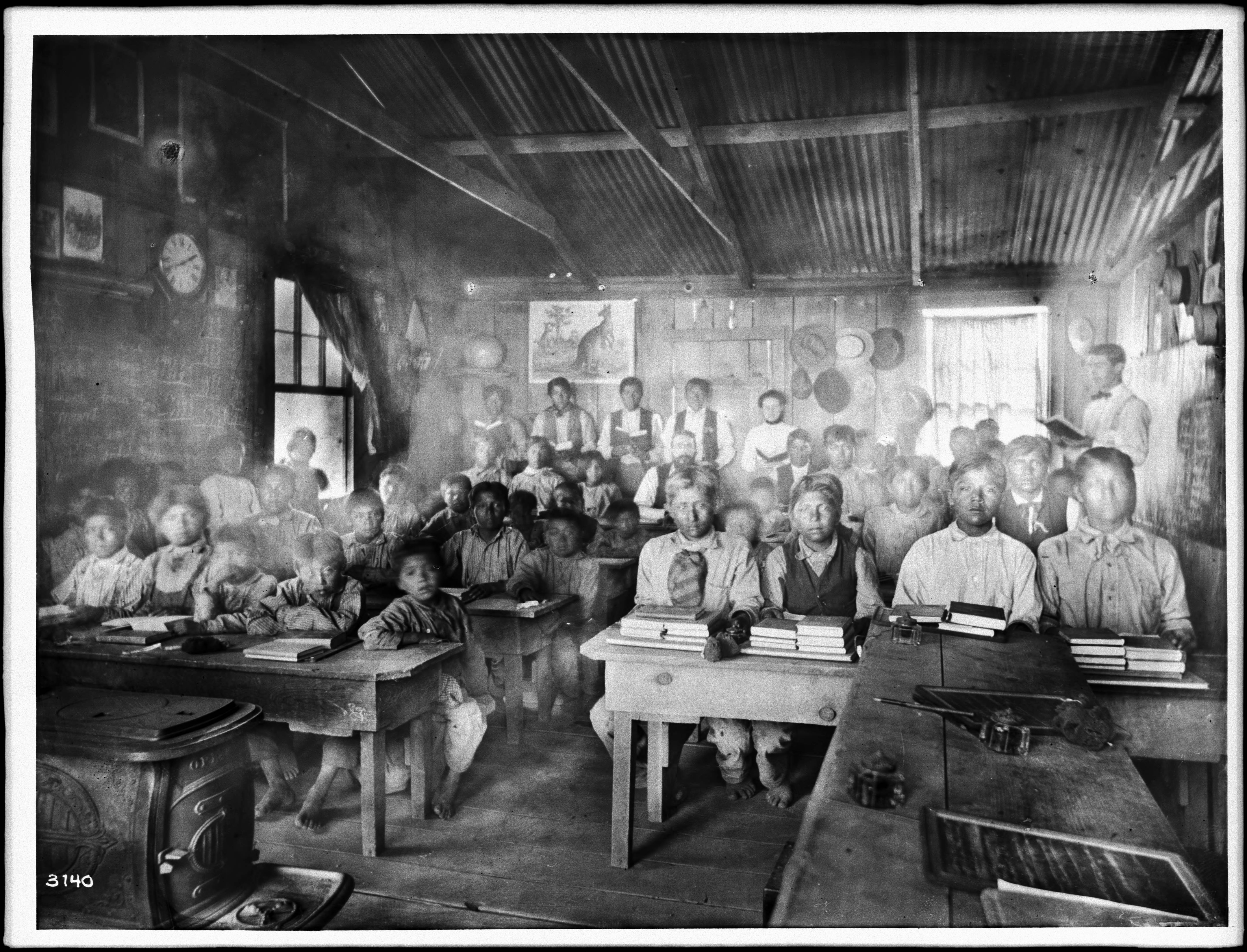 File Classroom Of Students With Their Teachers Inside A