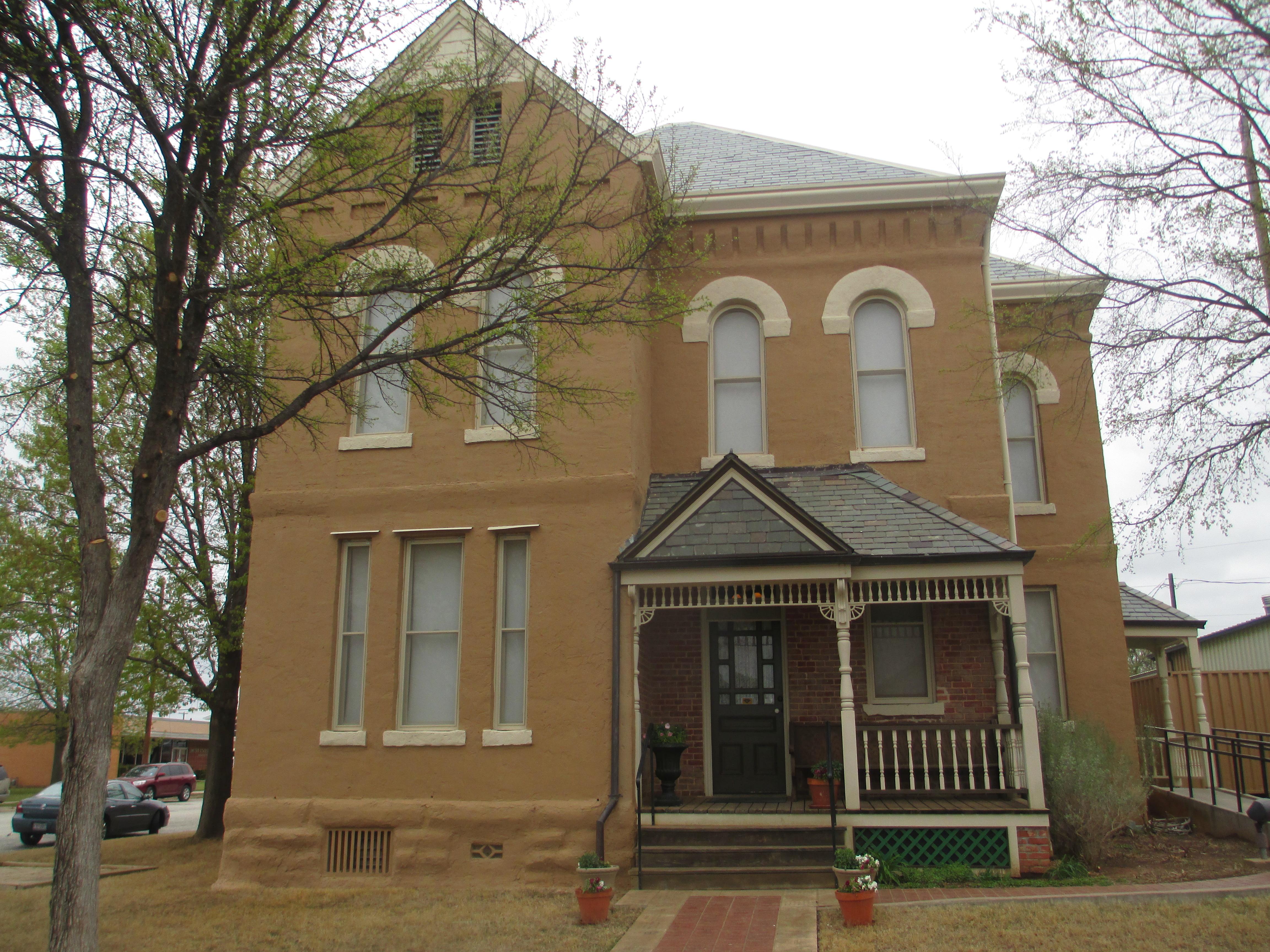 File:Clay County 1890 Jail Museum, Henrietta, tX IMG 6836