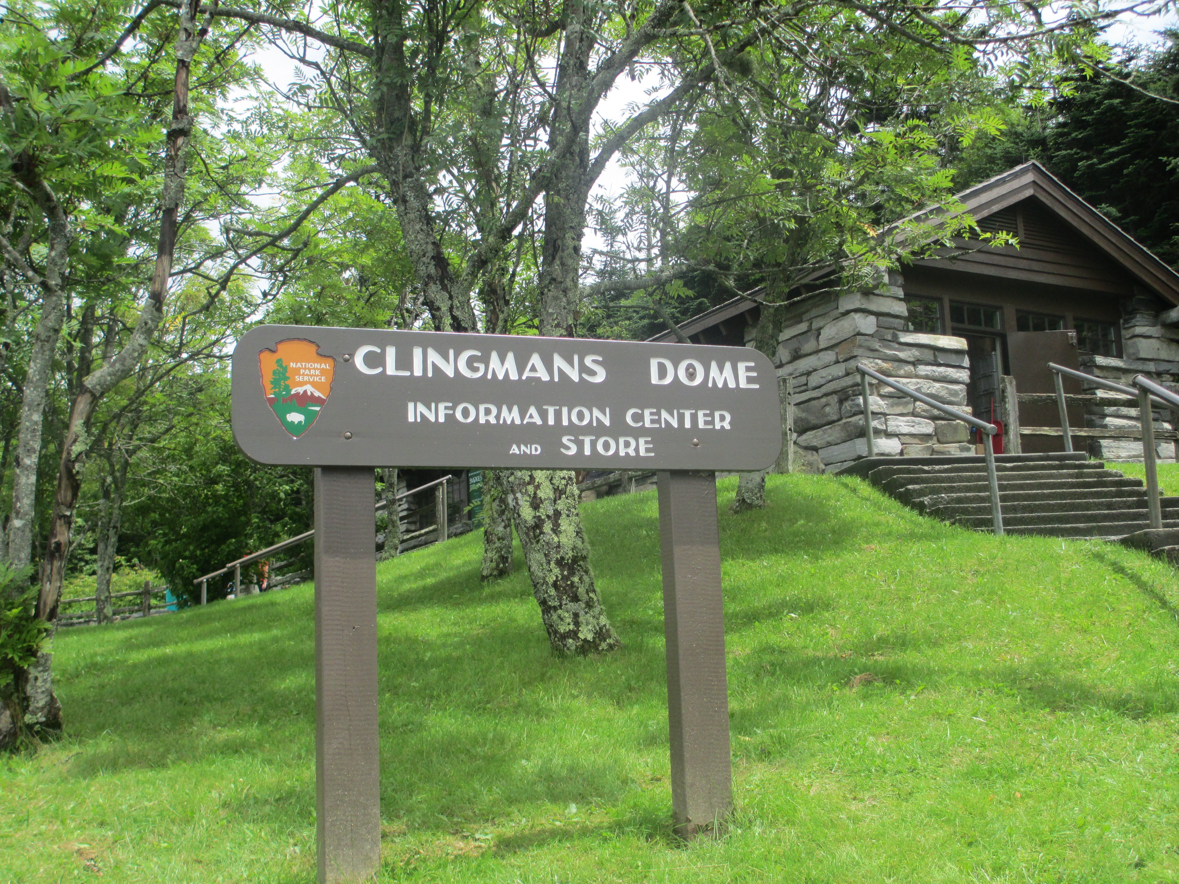 clingmans dome visitor center - HD4608×3456