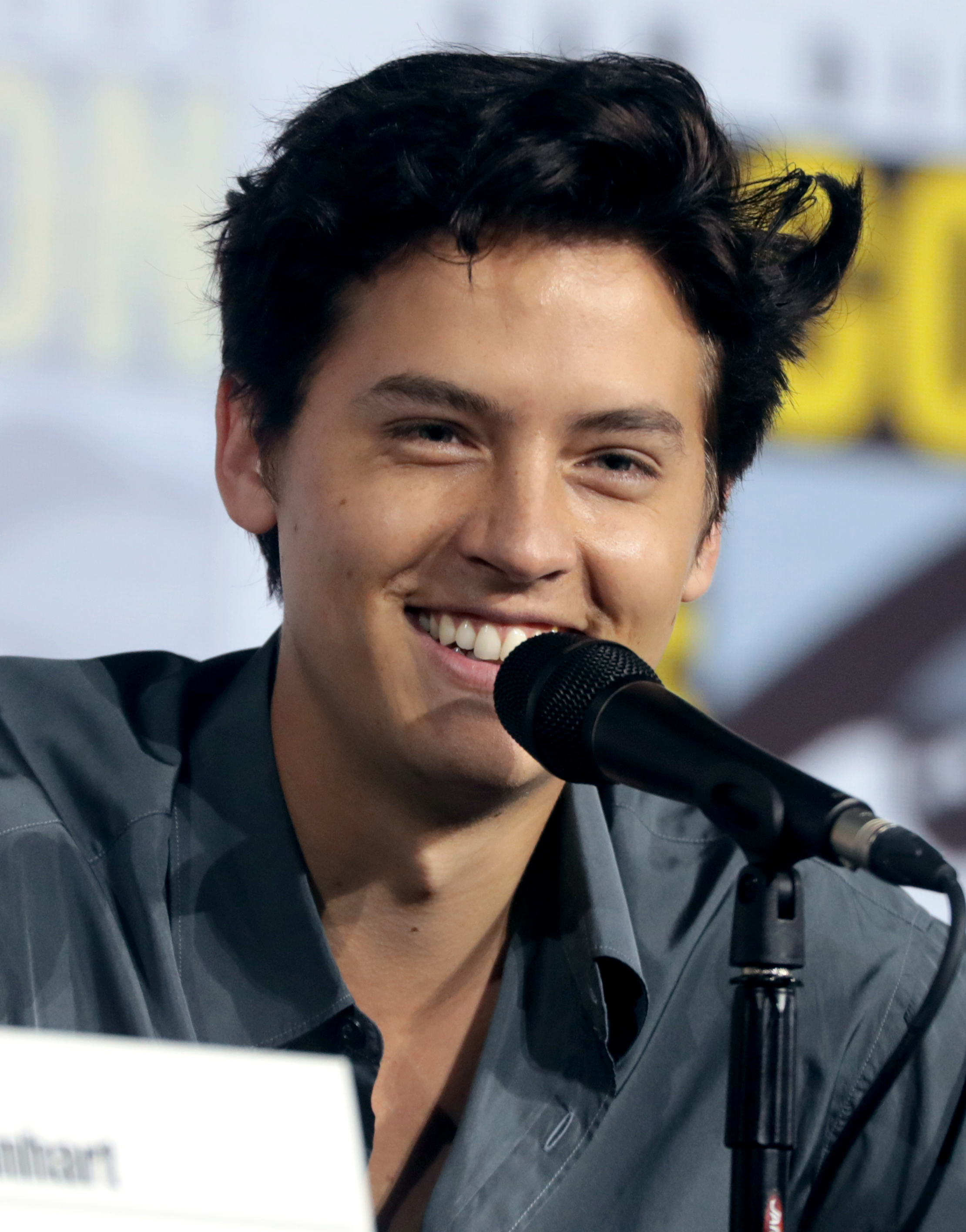 Sprouse at [[San Diego Comic-Con]] in 2019