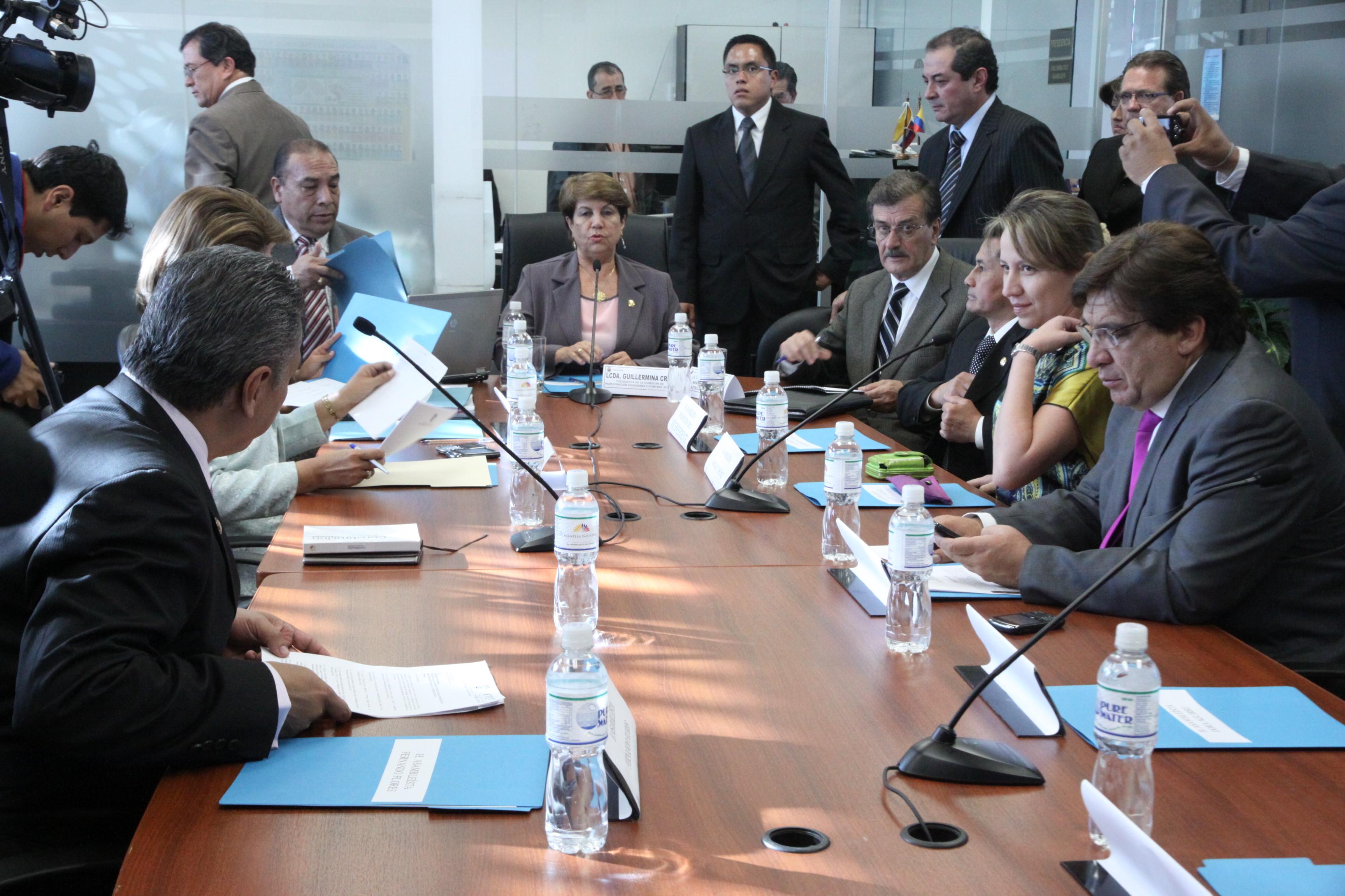 Participación Ciudadana y Control Social recibe al Ministro de Recursos no Renovables Wilsón Pastor (6262120358).jpg Español: Foto: Hugo Ortiz Ron / Asamblea