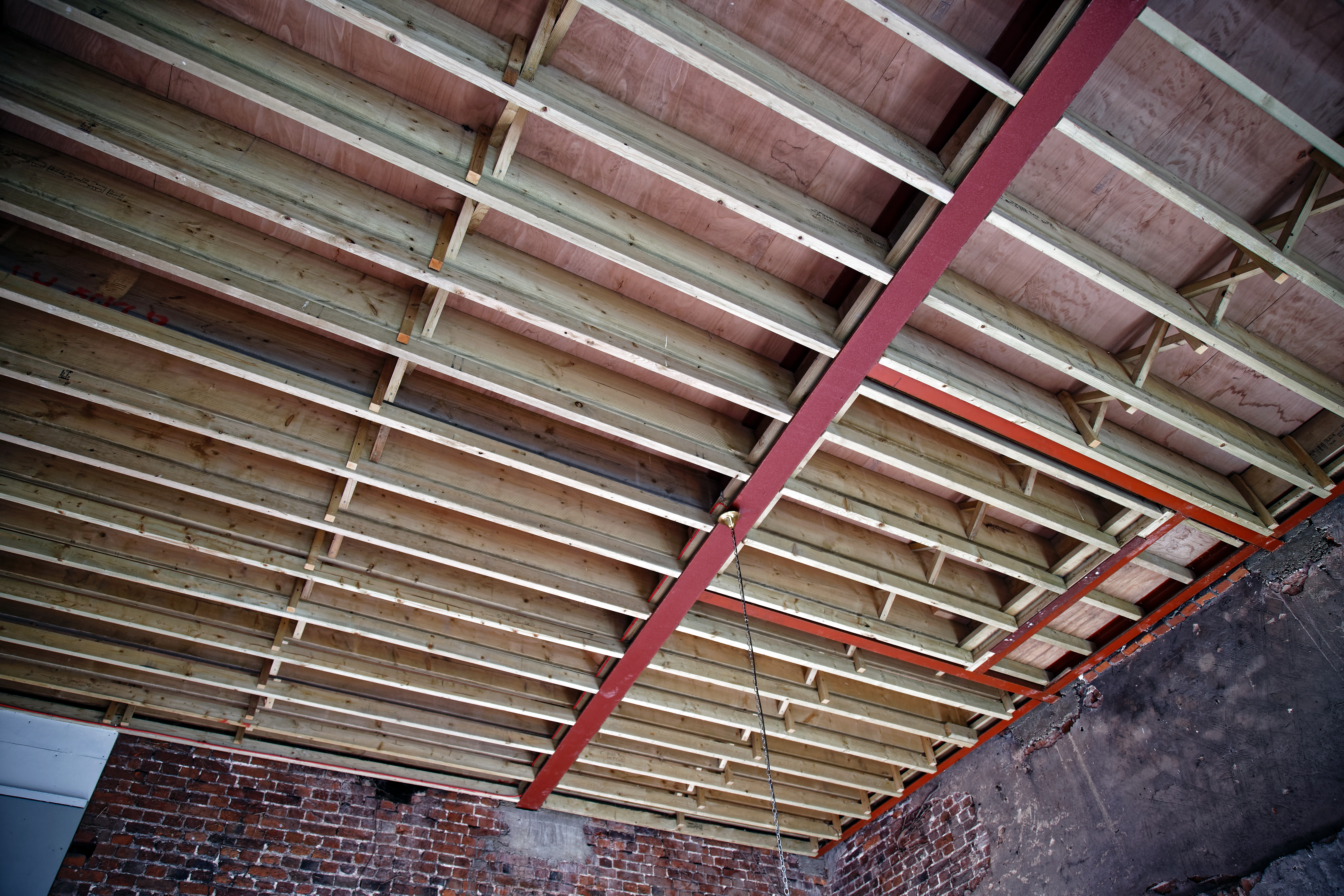 Copped Hall Ceiling Joists And Beams
