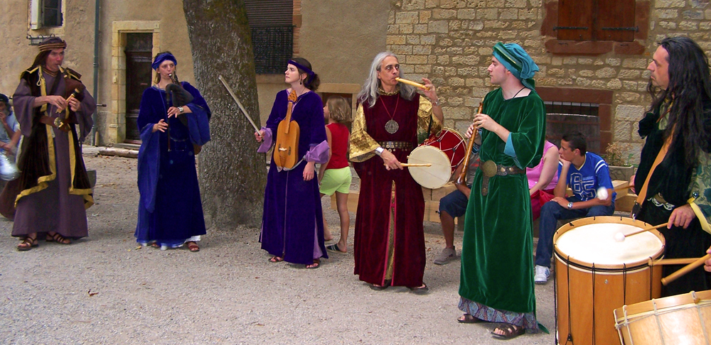 Medieval Festival of the Grand Fauconnier in Cordes sur Ciel