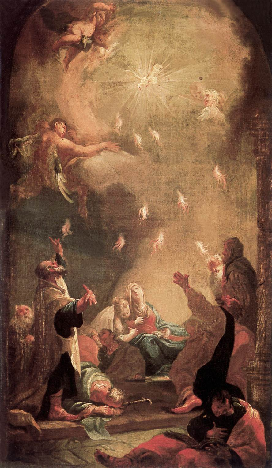File:Dorffmaister, István - Pentecost (1782).jpg