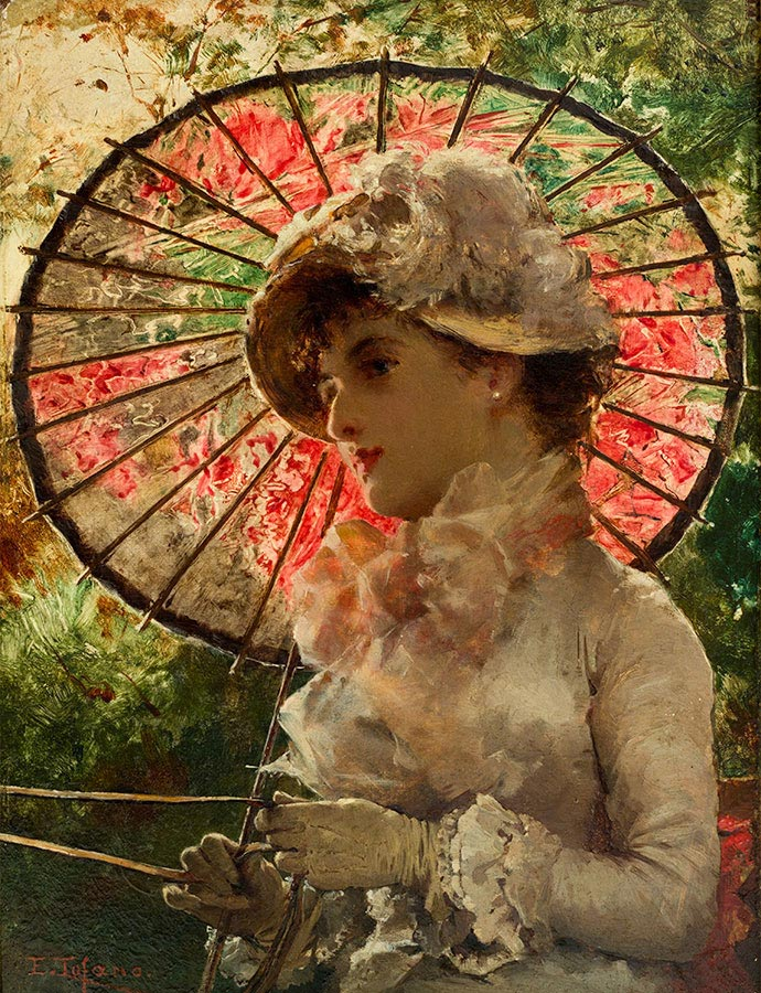 Edoardo Tofano - Mujer con sombrilla.jpeg