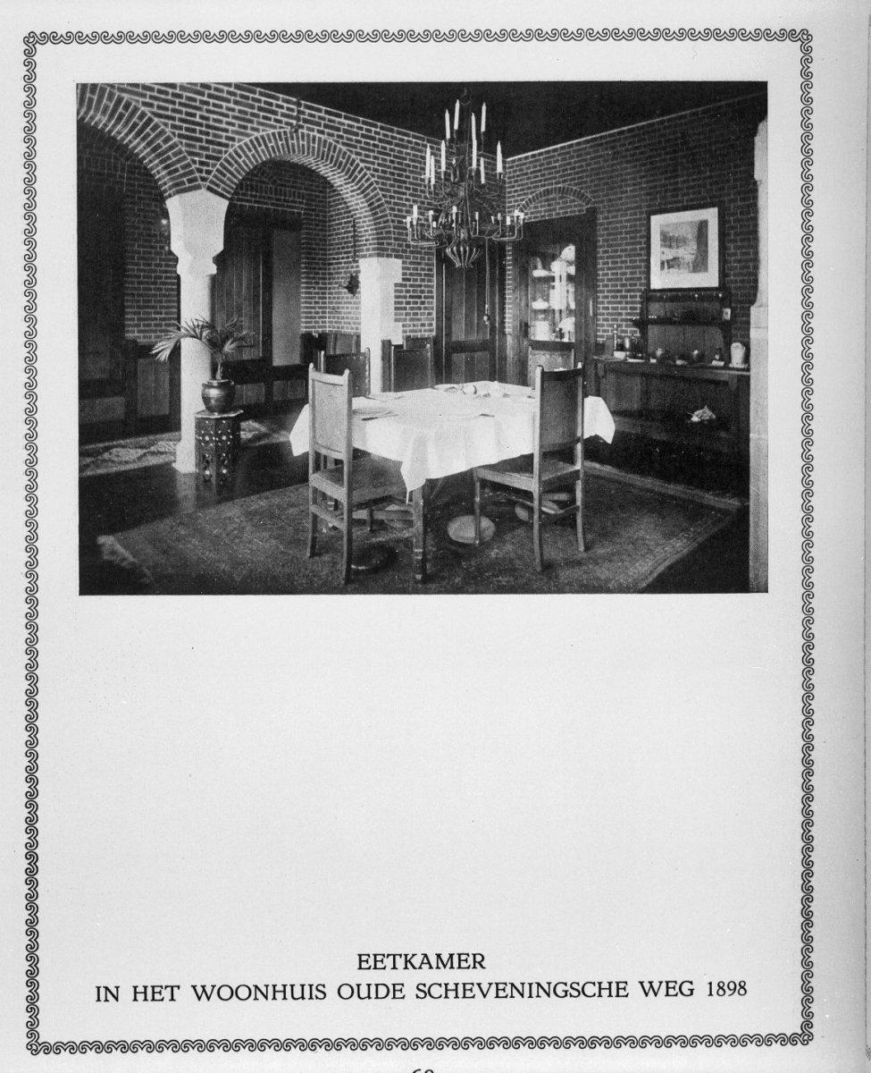 File:Eetkamer, reproductie uit Berlage - \'s-Gravenhage - 20090299 ...