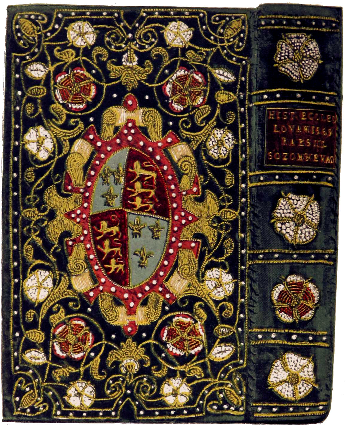 Old Chinese Book Cover ~ File embroidered bookbinding england th century g