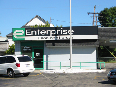 Enterprise Car Rental One Way Trip