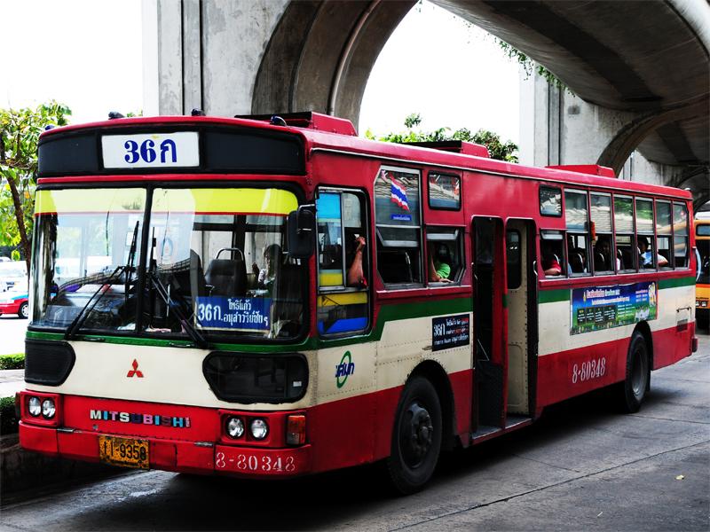 FUSO bus at Bangkok