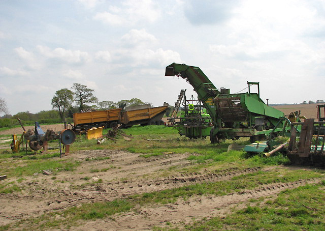 English: Farming machinery and implements Park...