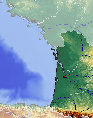 Map Of South West France Coast.File France Atlantic Coast With Large South West Highlighted Png