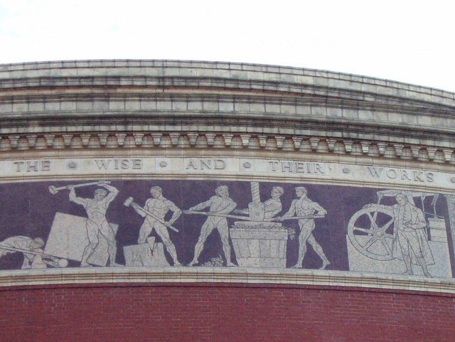 File:Frieze on the Royal Albert Hall - geograph.org.uk - 1430602.jpg