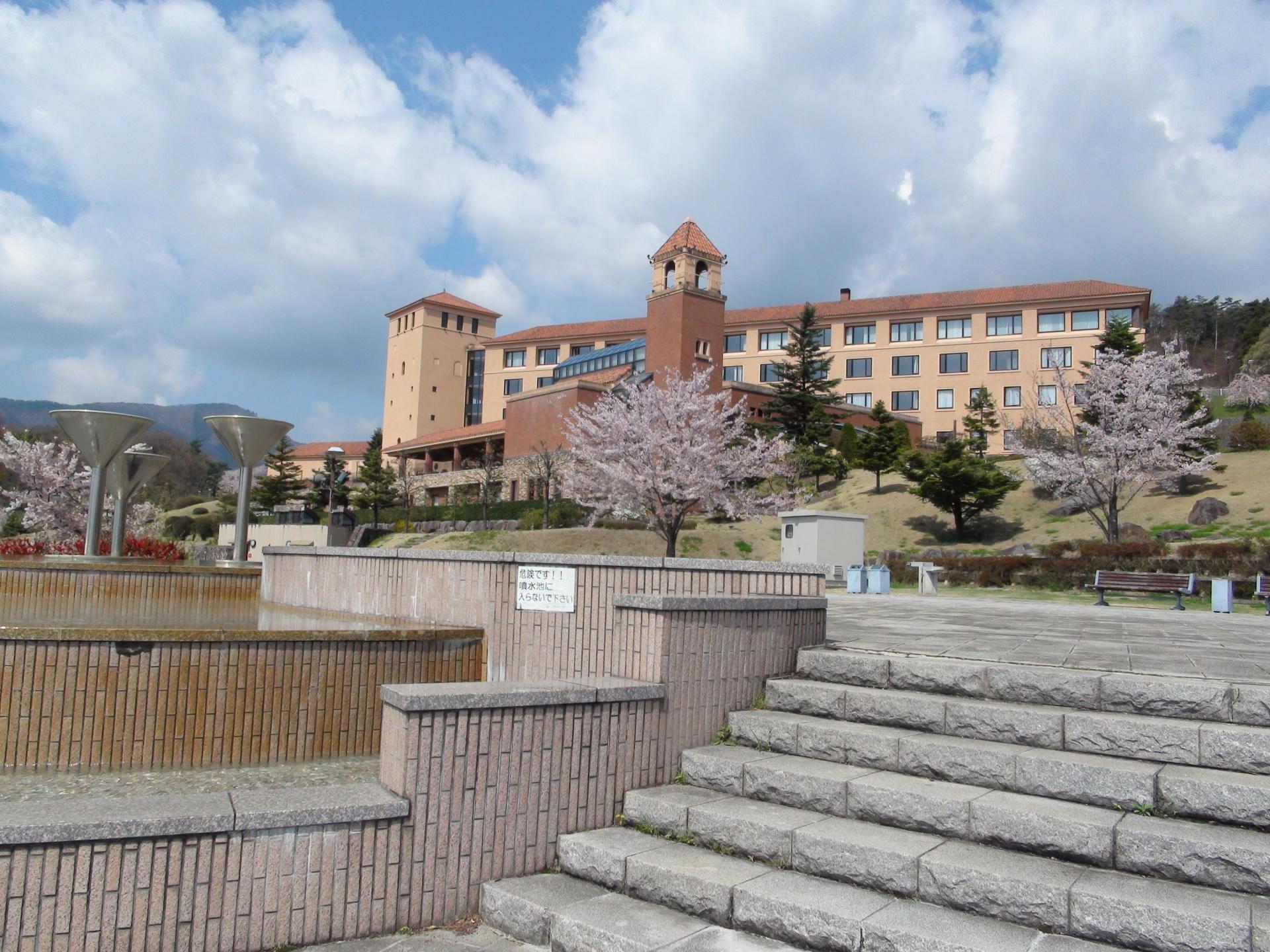 Casino fountain park