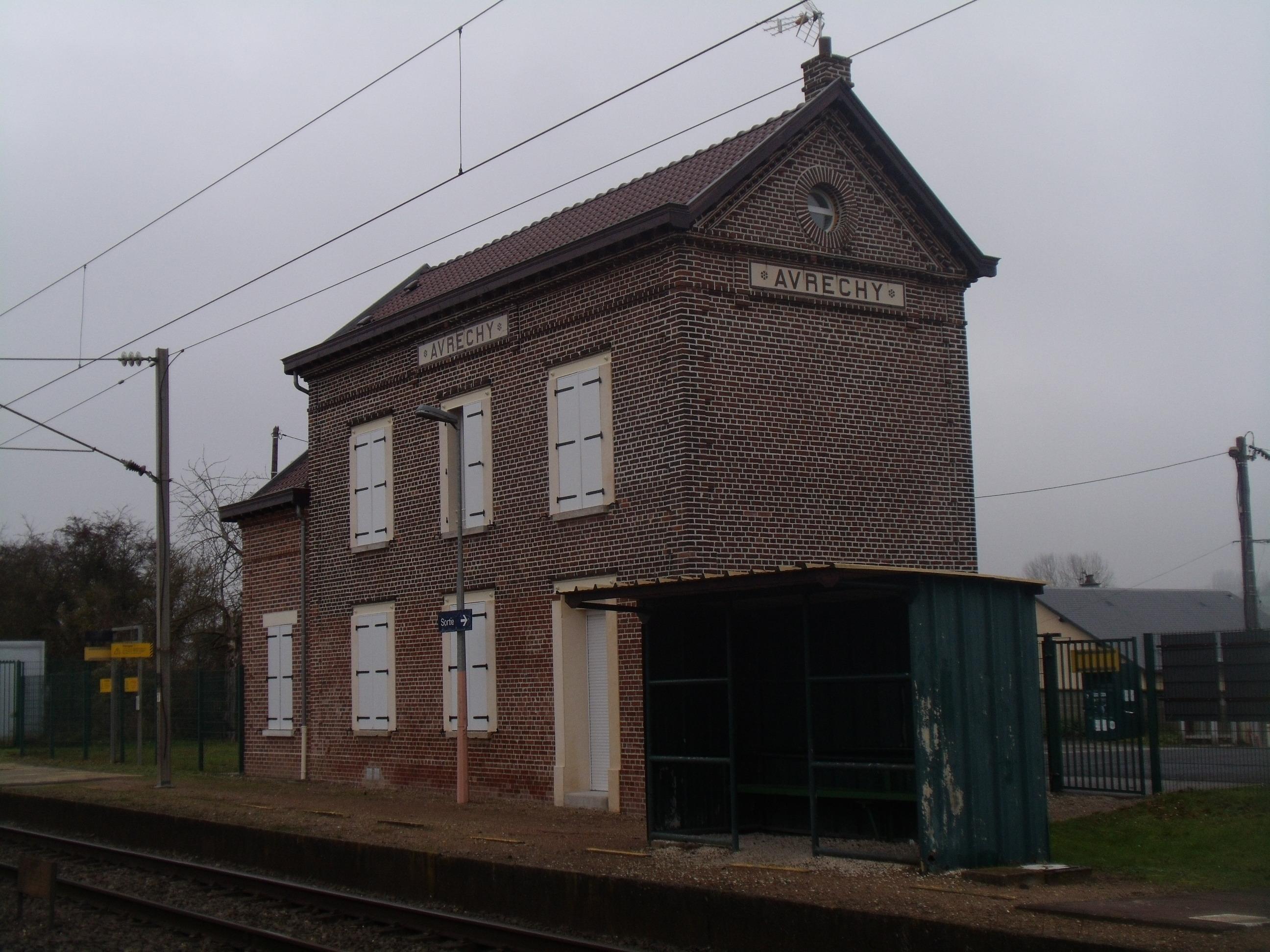 Station Avrechy