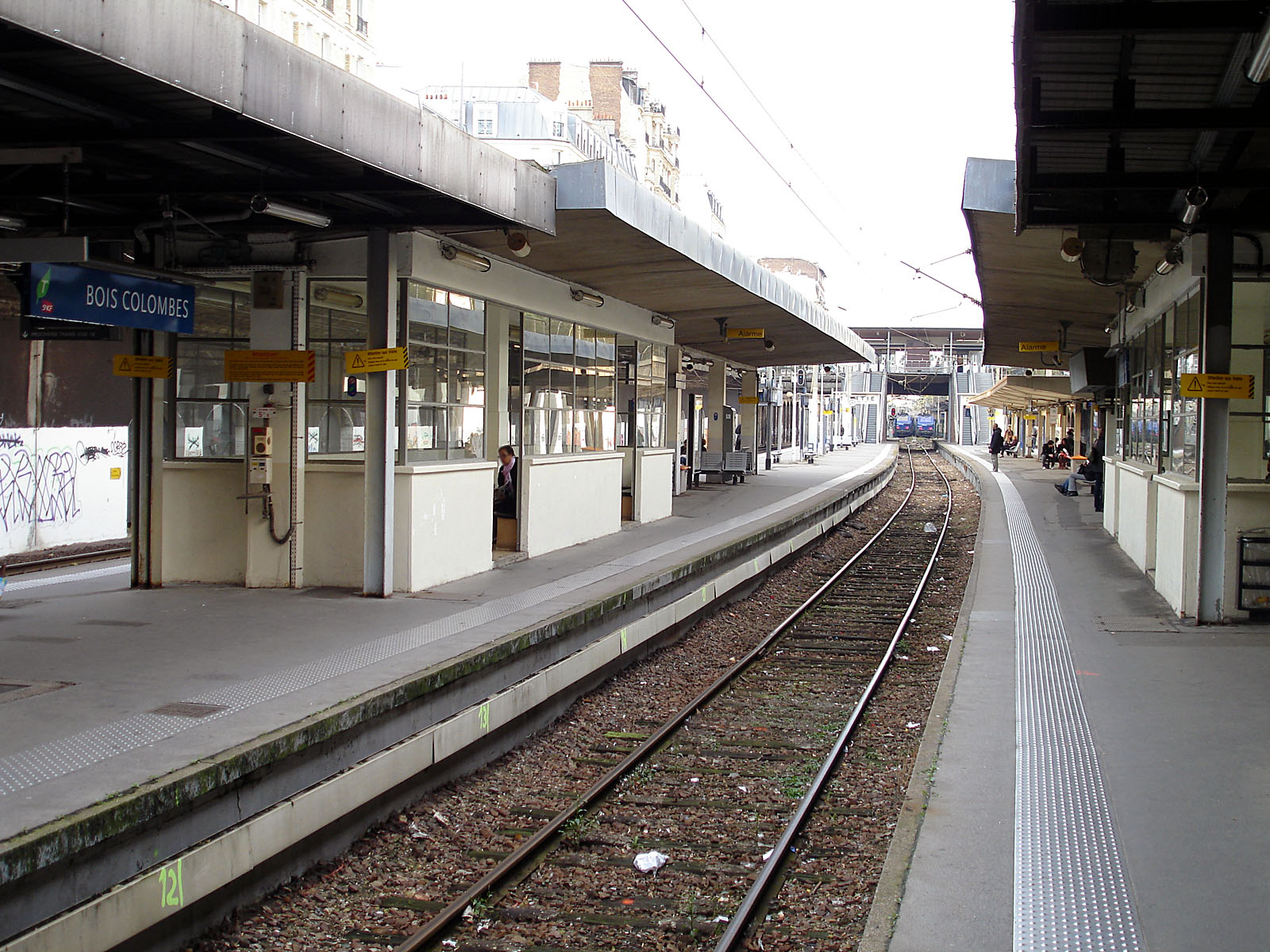 Gare Colombes # Aviva Vie Bois Colombes