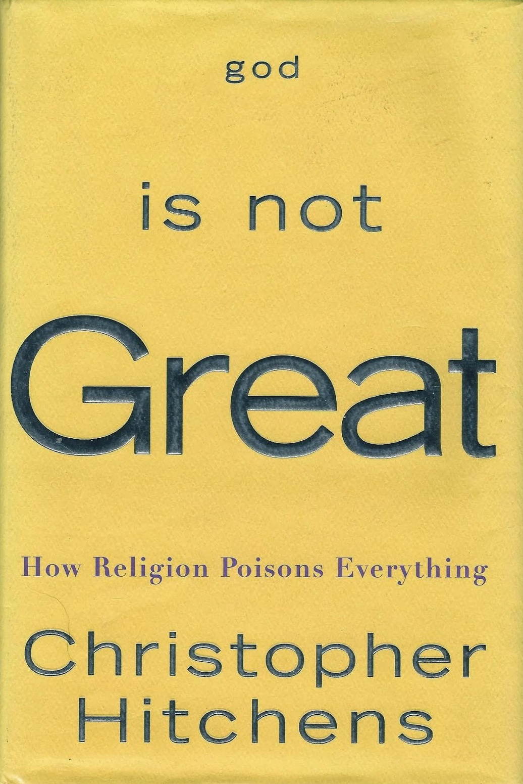 God is Not Great first edition