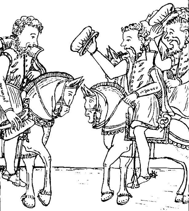 Depiction of Gonzalo Pizarro