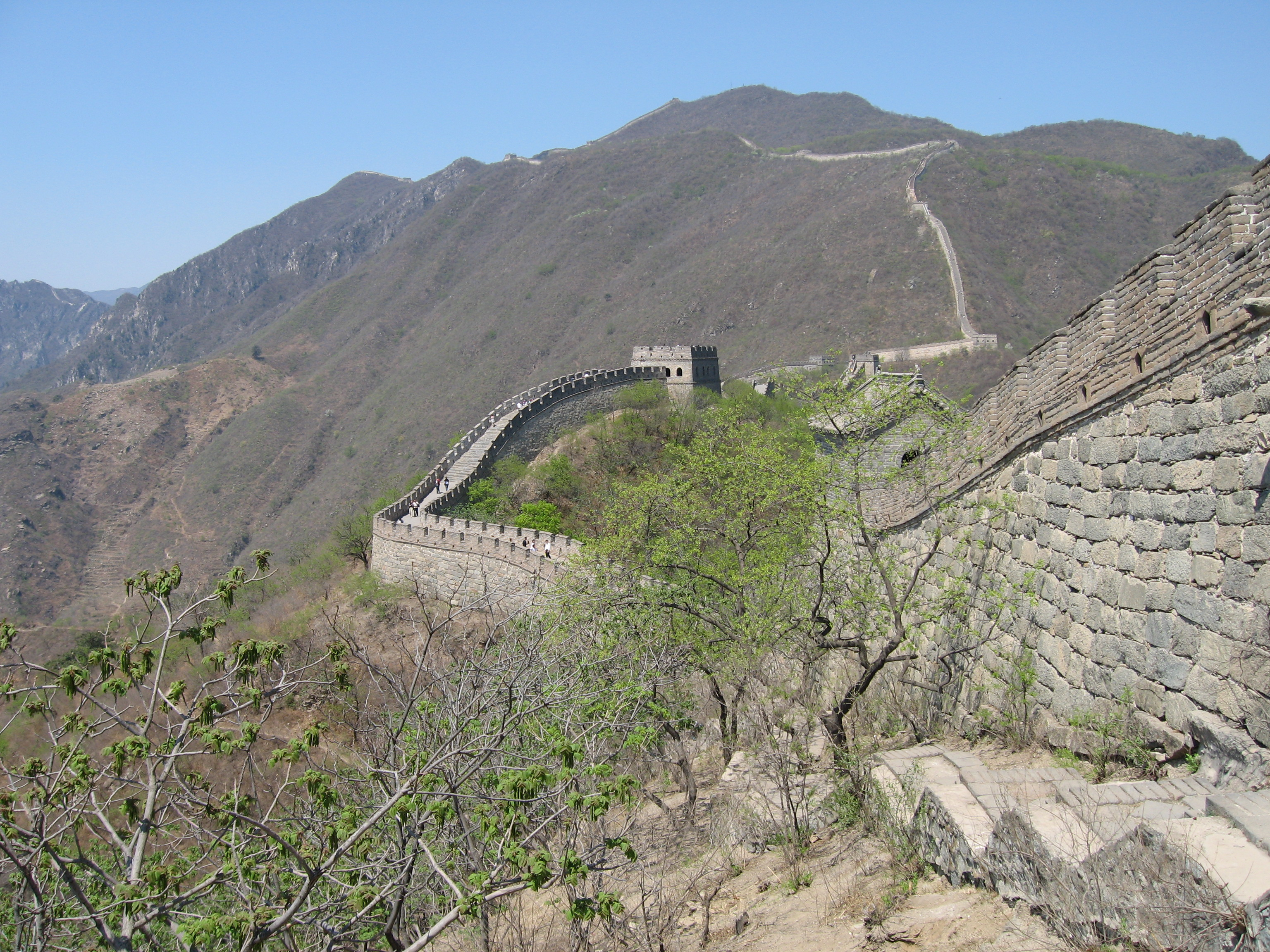 a history and description of the great wall of china Great wall chronology presents the timeline of great wall of china from spring and autumn (770 - 476bc) to ming dynasty (1368 - 1644) with location, length and building period in different dynasties.