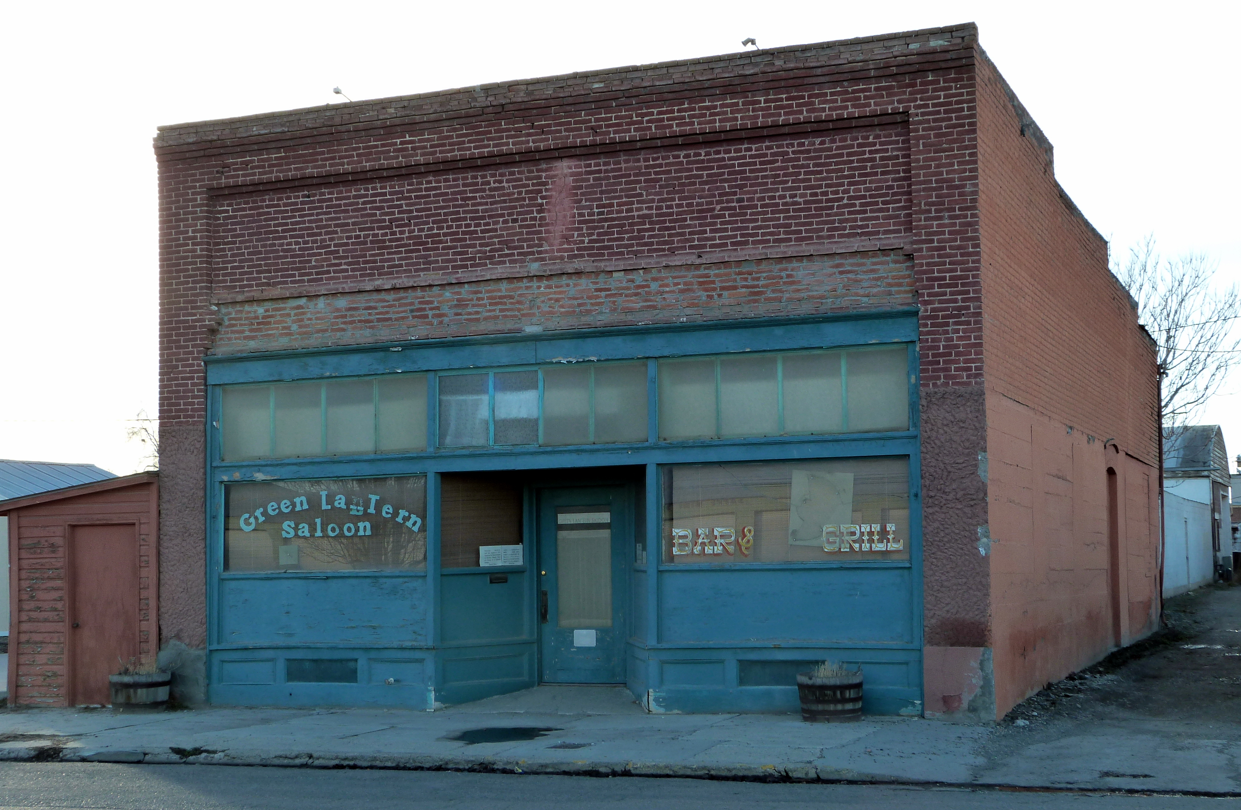 Dateigreen Lantern Saloon Nyssa Oregonjpg Wikipedia