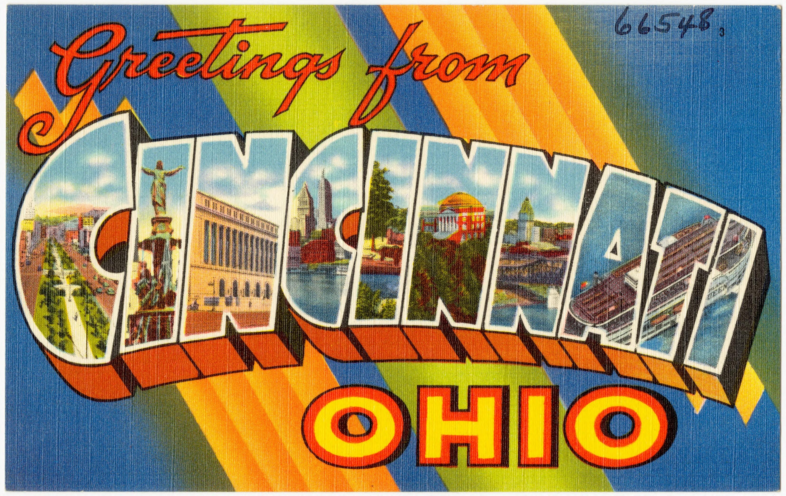 Filegreetings From Cincinnati Ohio 66548g Wikimedia Commons
