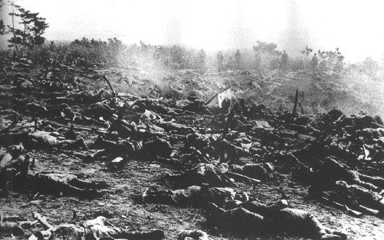 Bodies on Battlefield