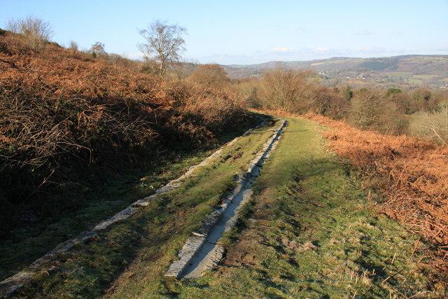 Haytor Tramway - geograph.org.uk - 1641149