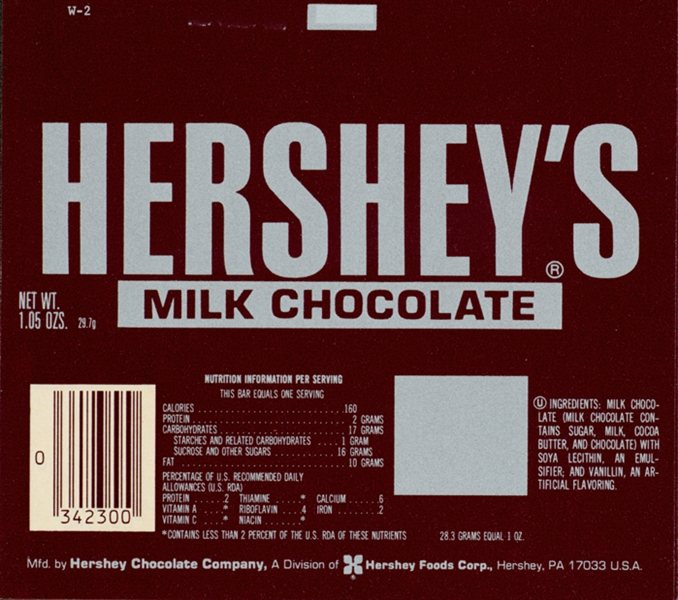 File:Hershey's Milk Chocolate wrapper (1978-1982).png - Wikimedia ...