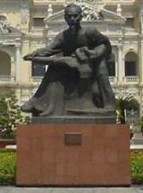 Ho Chi minh estatua