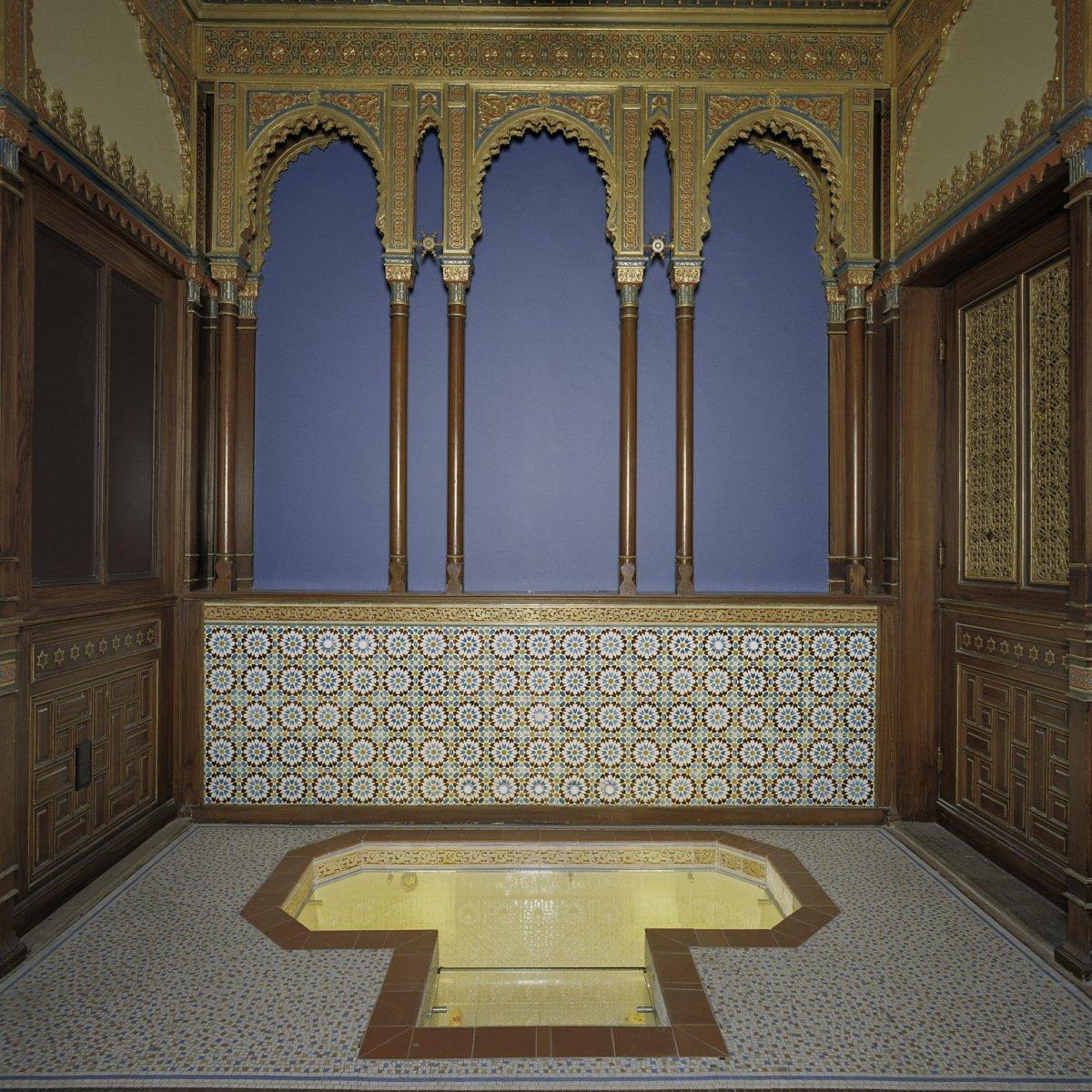 Bestand:Interieur zicht in badkamer (moors bad) - Amsterdam ...